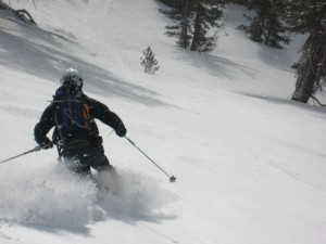 Ripping it up in Tahoe 3