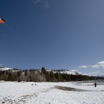 Lake Tahoe Beach Snowkiting 6