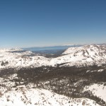 Tahoe in the distance from the summit