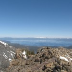 Lake Tahoe From Angora Ridge
