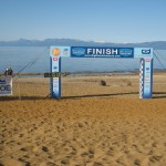 Run to the Beach Finish Line