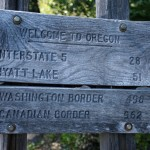 Finally, The California/Oregon Border