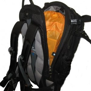 The Back Panel Access on the Deuter Freerider