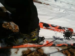 Verdict Skis with Dynafit Bindings