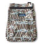 Kavu Keeper Purse in the Color Blue Abstract