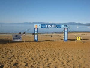 Run to the Beach Finish