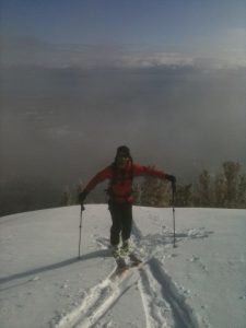 Top of Rubicon Peak