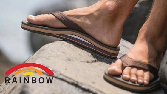 f2e1c4498 Rainbow Sandals are some of the most comfortable flip flops we at Tahoe  Mountain Sports have ever worn. Beginning in 1972 in a Laguna Beach garage