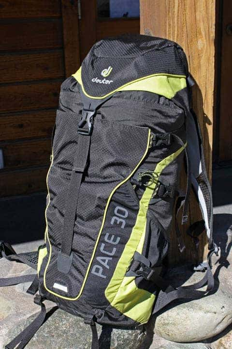 Deuter Pace 26 my Trusty Deuter Pace 30