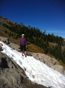 Snow on the PCT in October