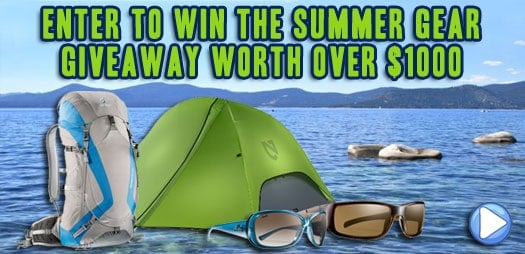 Enter to Win the Summer Gear Giveaway Worth Over $1000