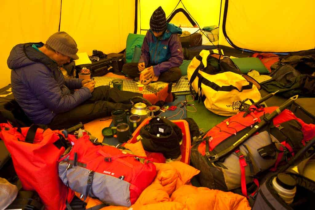 Conrad Anker and Renan Ozturk, Summit Series Gear