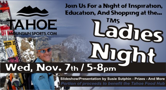 Ladies Night at Tahoe Mountain Sports