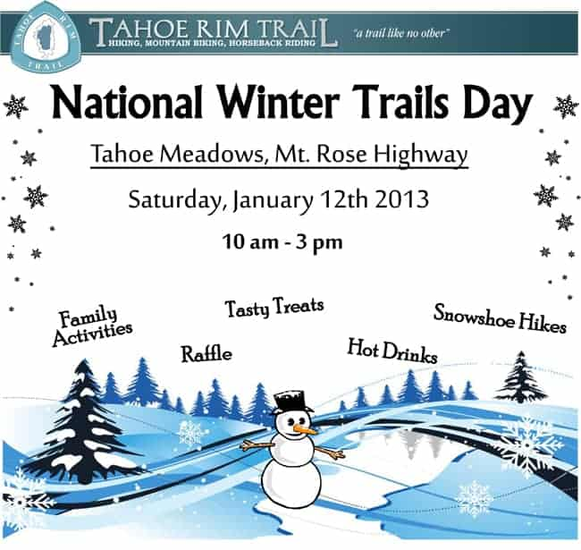 National Winter Trails Day