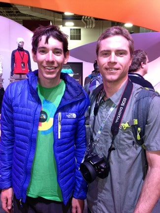 Adam Broderick and Alex Honnold
