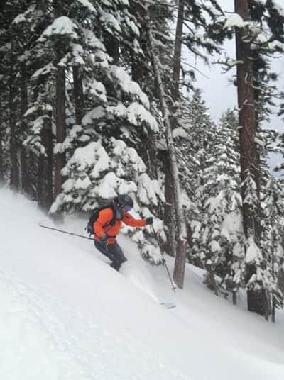Tahoe West Shore Backcountry Skiing