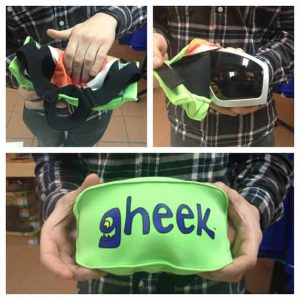 Gheek goggle cover