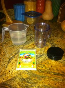 sugar soy dairy gluten free smoothie mix