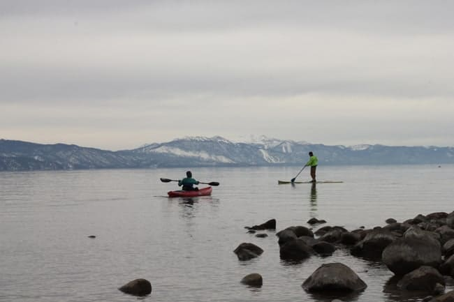 stand up paddle kayak north lake tahoe