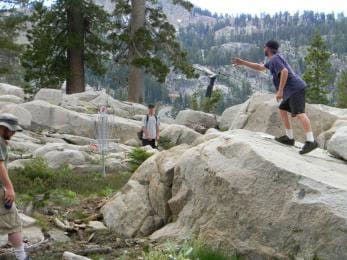disc golf squaw valley