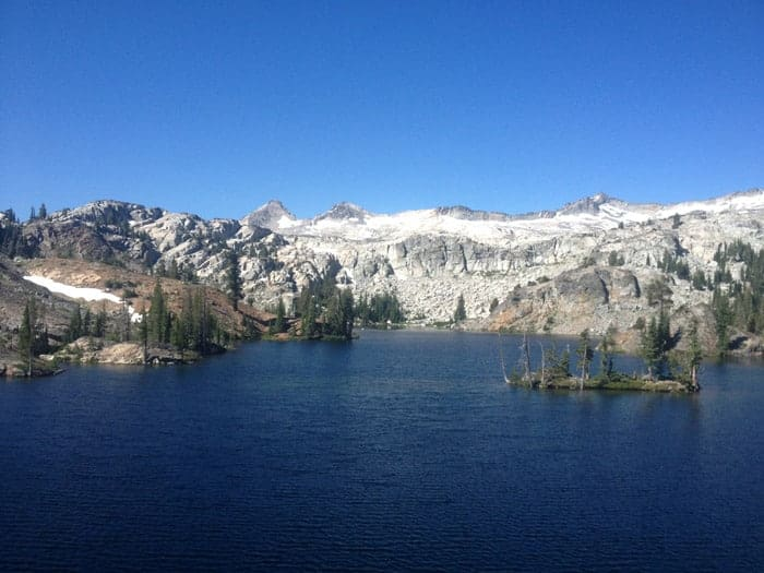 lakes in desolation wilderness