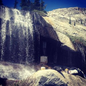 waterfall desolation wilderness