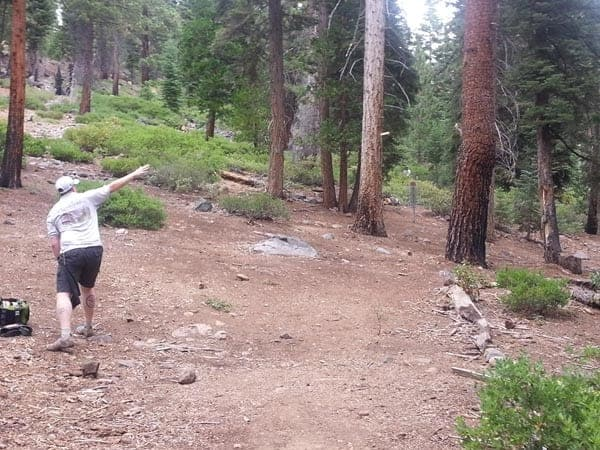 Tahoe Vista disc golf course