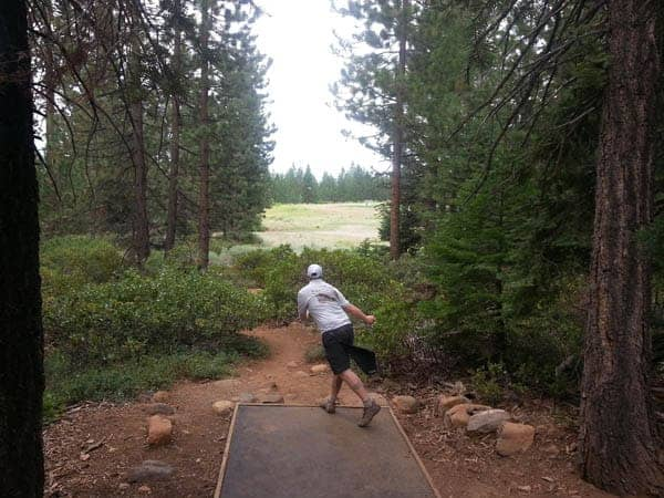 Tahoe Vista disc golf