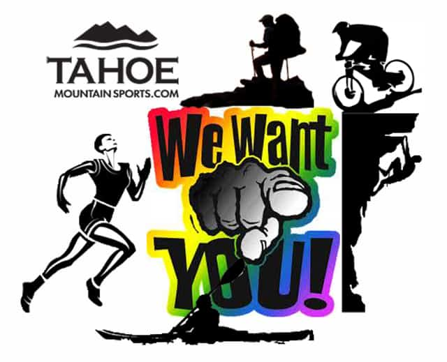 Tahoe Mountain Sports Ambassador Program
