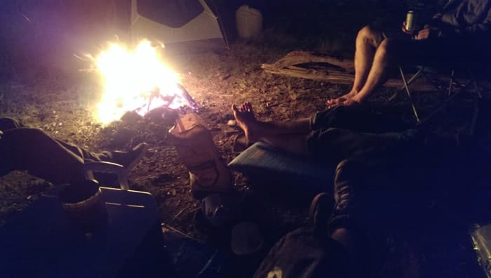 Black Rock Mountain Campfire