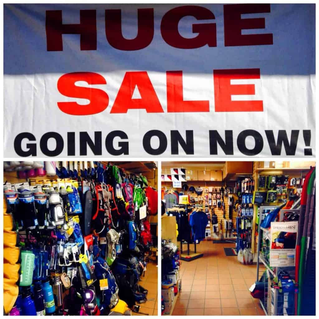 Come in for our HUGE Moving to Truckee Sale!