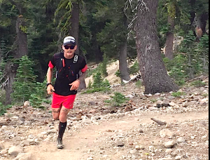 Chris Cloyd, TMS ambassador and Truckee local, placed third overall in his Salomon Running kit at the inaugural Castle Peak 100K.