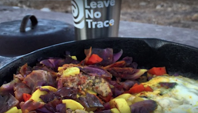 Click on the image to see the Leave No Trace episode of Adventure Dining Guide.
