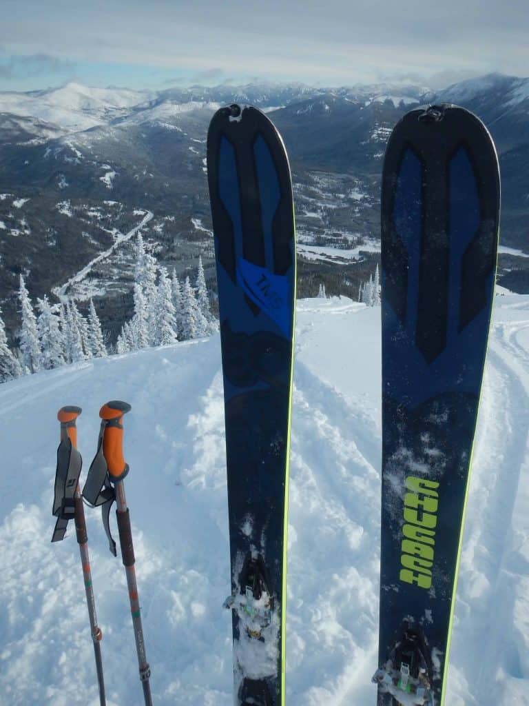 dynafit-chugach-skis-on-snow