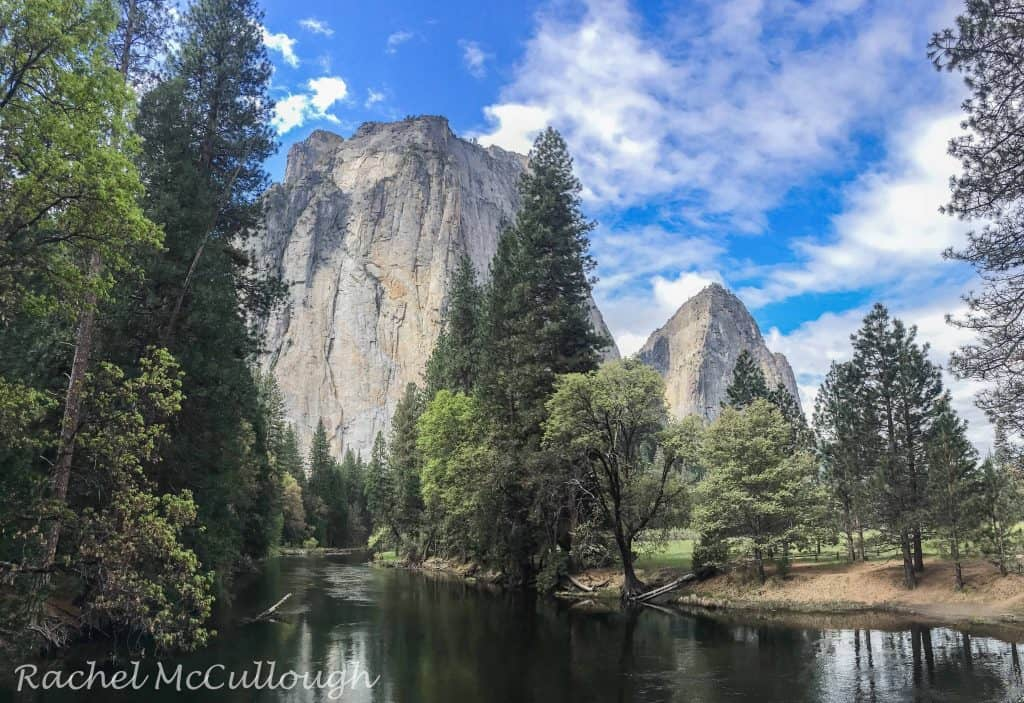 Someone take me back there, right now! The Catherals and the Merced River.