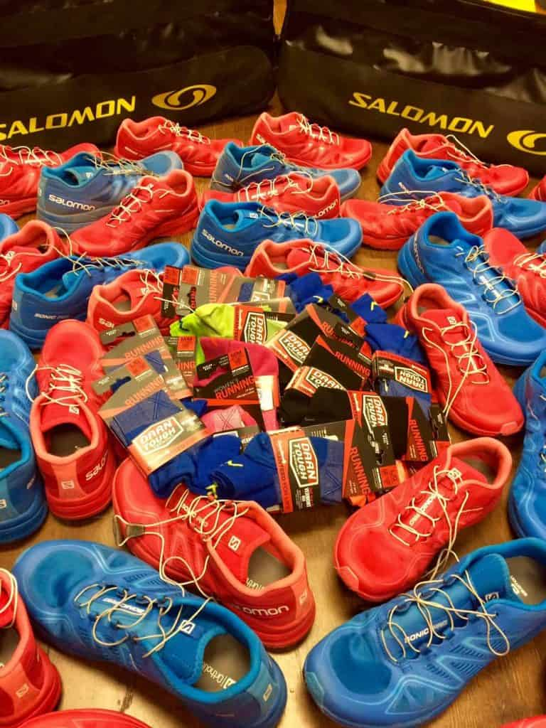 Salomon Sonic Pro Shoe Demo! Every demo participant gets a Free pair of Darn Tough socks!