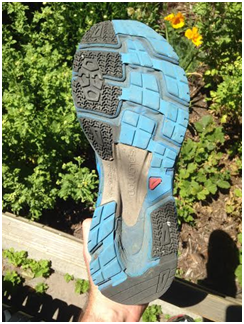 Salomon Sonics maintaining their tread after 100+miles!