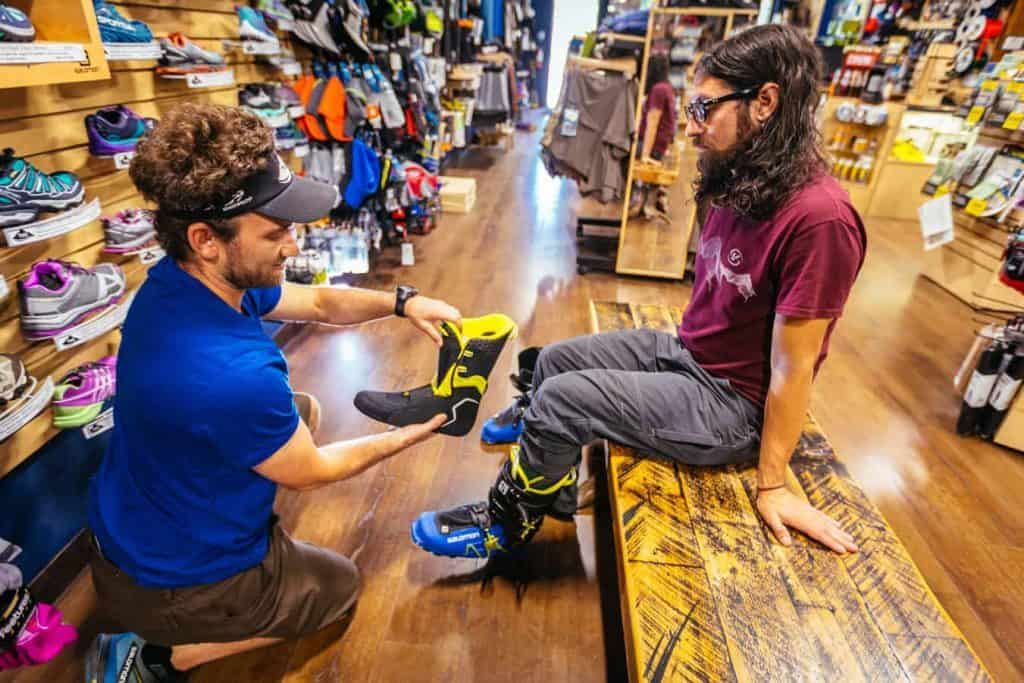 Make an appointment to find the right backcountry boots for your next adventure.