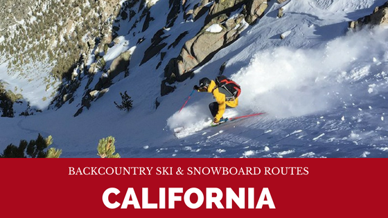 One of our favorite winter guidebooks is Backcountry Ski and Snowboard Routes in California.