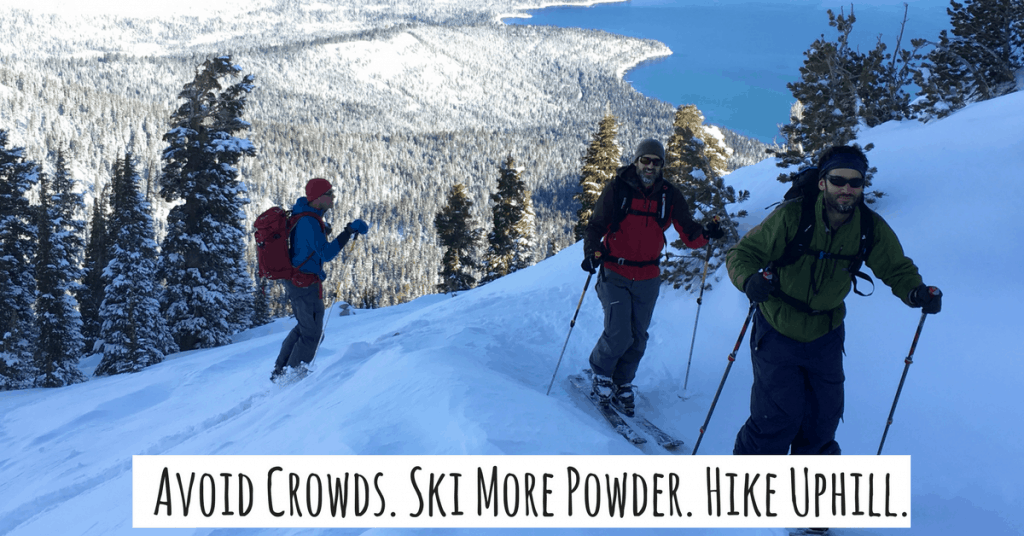 Rent backcountry ski gear at Tahoe Mountain Sports and ski more powder!