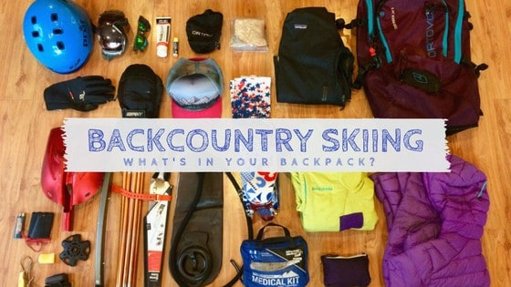 What's in your backcountry ski pack? We find out.