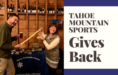 Tahoe Mountain Sports Gives Back