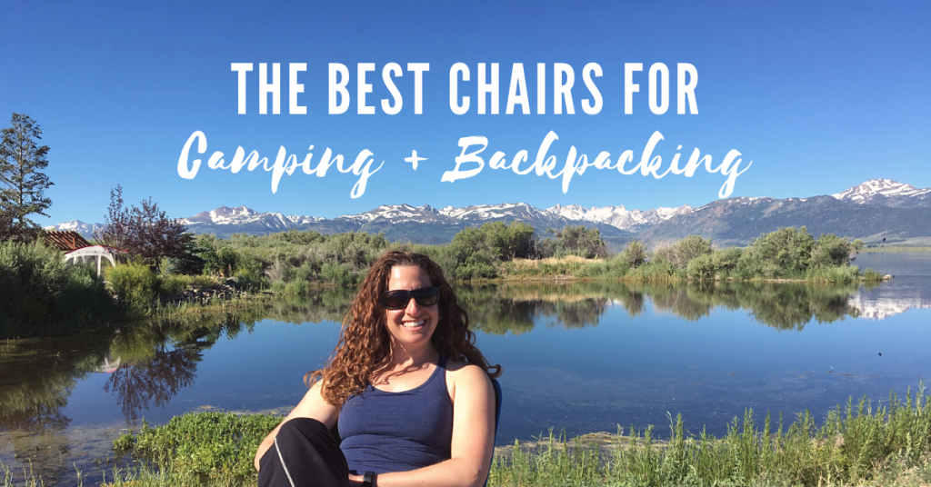 The best camp chairs for camping and backpacking
