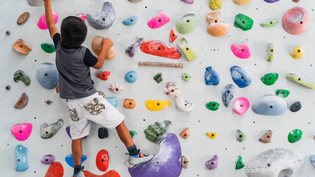 Bouldering is great for kids!